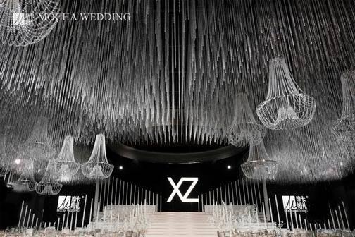 国内婚礼案例精选 |纯净的水晶穹顶下 爱情逐光生璀