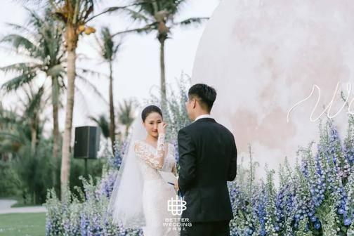 国内婚礼案例精选|这场三亚海岛婚礼藏着火爆全网的流行元素!