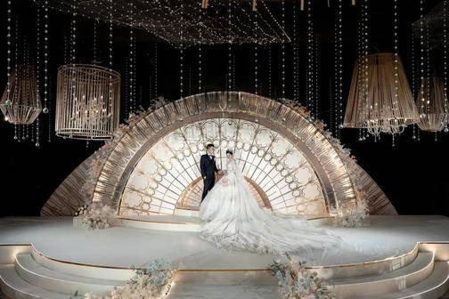 国内婚礼案例精选  | 将极简主义推向高潮